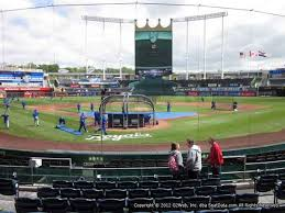 Royals Seating Chart 2012 Kauffman Stadium Seat Views Section By Section