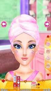 fashion doll games makeup and dress up for kids screenshot 2