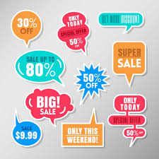 For Sales Speech Bubbles For Sales Vector Free Download