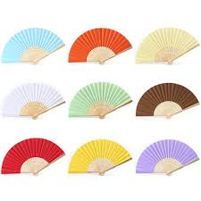 opentip com aspire paper hand fans diy folding fans with bamboo ribs gift favor