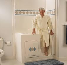 Walk In Shower Home Depot Tub Steps For Elderly Bathtubs Two ...