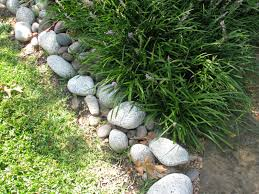 Stone Landscape Edging Ideas Design Thediapercake Home Trend