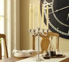 pottery barn aluminum plate candle
