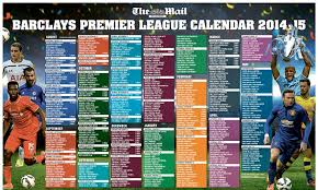 Football League Table Wall Chart Premier League Is Almost Here Download Your Mail On