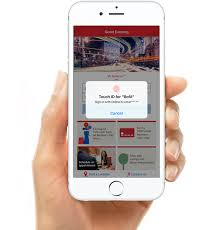 Sign In App Sign In To The Mobile App With A Simple Touch Of Your Fingerprint