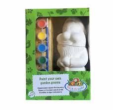 paint your own garden gnome kit 6