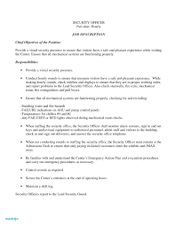 Security Supervisor Cover Letter Security Officer Jobption Resume Sample Objective Armed For