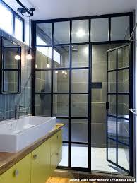 shower door glass treatment sliding glass door window treatment ideas industrial from architects best shower door shower door glass treatment