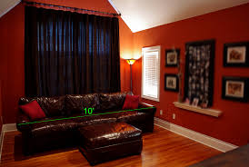 Orange And Brown Living Room Decor Furniture Living Room Decorating Ideas With Brown Distressed