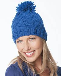 Knit Beanie Pattern Classy Chunky Cable Hat Knitting Pattern FaveCrafts