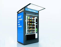 Outdoor Vending Machines Awesome VENDING MACHINES HOUSINGS FEATURES KeyCompany Visual Advertising