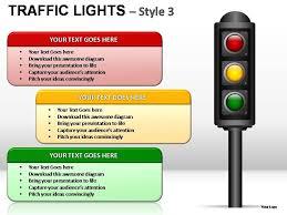 Traffic Lights Style 3 Powerpoint Presentation Slides Powerpoint