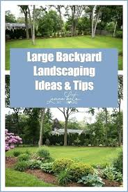 Landscaping Design Ideas For Backyard Adorable Large Backyard Landscaping Garden R Small Backyard Ideas Large Size