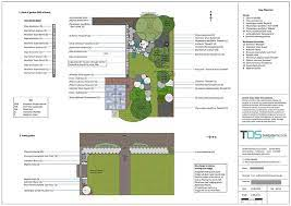 planting plan and plant schedule tds