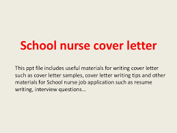School Nurse Cover Letter 1 638 Cb Collection Of Solutions Sample