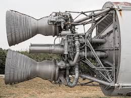 The LR-87 engines of the Titan I Intercontinental Ballistic Missile ...