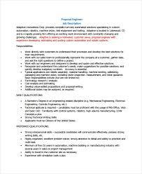 10 Job Proposal Examples Pdf Doc Examples