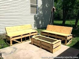 wood patio furniture plans. Pallet Lawn Furniture How To Build Outdoor Out Of Pallets And Plans Wooden Patio Wood