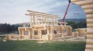 Image result for Building a log cabin