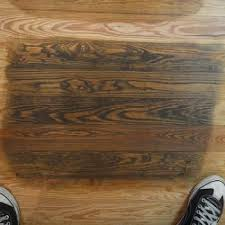 how to remove black water stains from wood floor