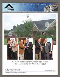 Apr May Jun 2015 By Huntsville Madison County Builders Association