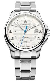 victorinox swiss army officer 241673 men s stainless steel victorinox swiss army officer 241673 men s stainless steel automatic watch