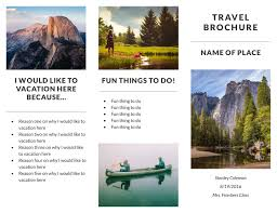 Travel Brochure Free Travel Brochure Templates Examples [24 Free Templates] 1