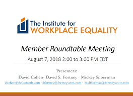 august 2018 member roundtable