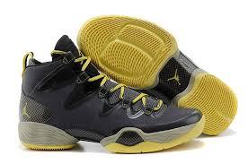 jordan zoom shoes. air jordan 28 black yellow shoes features whole foot zoom sneaker for men new arriva