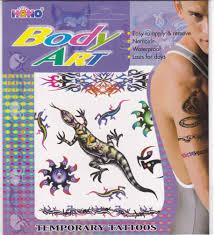 Tetování Ještěrka