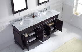 Vanity Bathroom Set Virtu Usa Victoria 72 Double Bathroom Vanity Set In Espresso