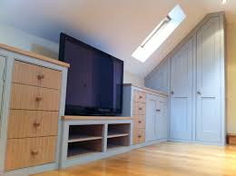 furniture for loft. Attic_bookcases Under Eaves Wardrobes For Attic Furniture Loft