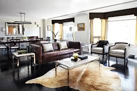 dallas cow hide rugs with rustic area living room contemporary and apartment animal skin