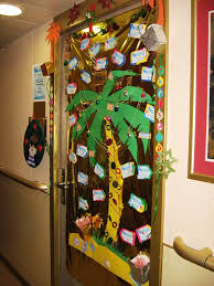 Cool Door Decorating Ideas Of Home Decorations And Impressive Design