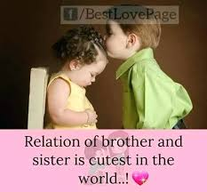 Brother Love Quotes Magnificent Best Love Quotes For Sister As Well As Brother And Sister Love