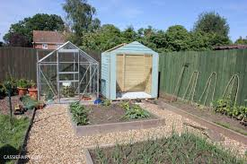 How does your garden grow? Painting a shed to look like a beach hut