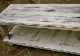 beautiful rustic white coffee table with white distressed coffee table