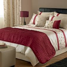 bedroom duvet covers king with brown wall design and standing