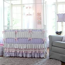 decoration pink and white nursery bedding lilac silver gray damask