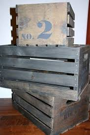 diy tutorial antiquing wood. Tutorial: How To Stain, Glaze And Stencil A Raw Wood Crate Look Vintage Diy Tutorial Antiquing N