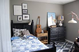Cool Bedroom Teenage Boys Interior Design Introduce Winsome Single