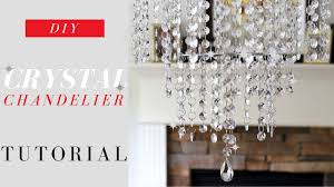 great how to make a crystal chandelier d i y c r t l h n e u o g for 20 you centerpiece diy cake stand