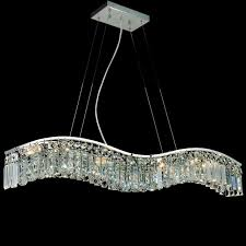 modern rectangular crystal chandelier brizzo lighting s 36 gesto modern rectangular wave