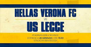 Verona-Lecce, le probabili formazioni del match del 21° turno