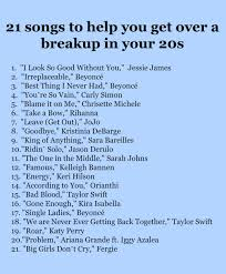 briar s ultimate breakup playlist 21 empowering songs to get you through a tough breakup finding briar