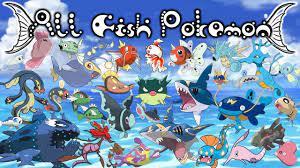 25 Intriguing Fish Pokemon For Fish Lovers - My Otaku World