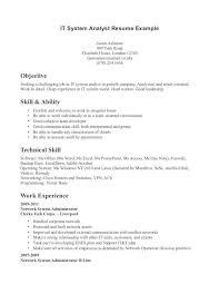 ... Beautiful Inspiration Technical Skills Resume 3 On A ...