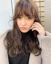 前髪あり 色気 抜け感 ロングフリーランスxena Miya At 1031miya