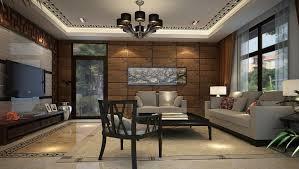 ... Creative Living Room Ideas Marvelous Creative Black Metal Shade  Chandelier Lighting Beige Floral Fabric Rug Brown ...
