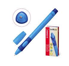 <b>Ручка шариковая</b> для правшей <b>Stabilo Left</b> Right, толщина письма ...